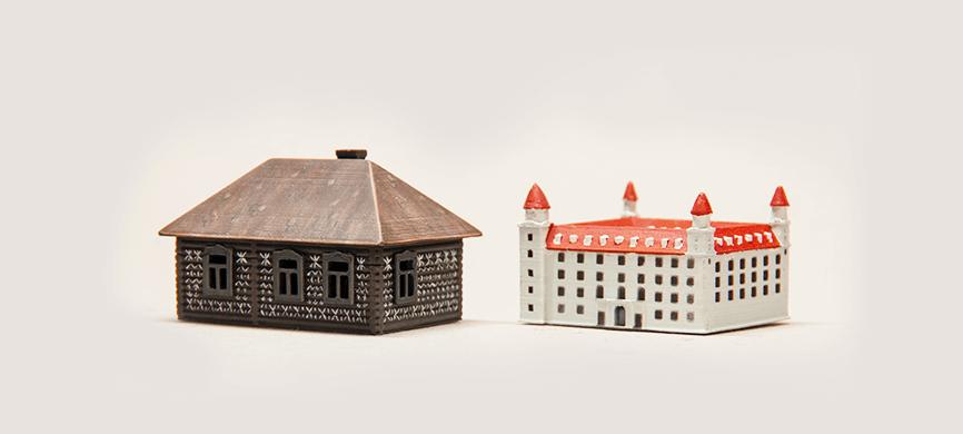 Zelina world 3d model Bratislavský hrad a Čičmany