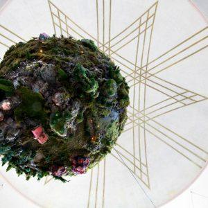 Zelina world Glitch rastlinná inštalácia Synagóga